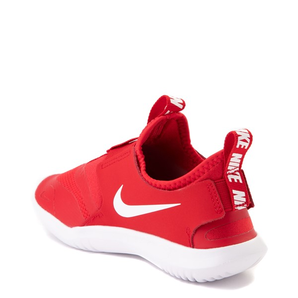 alternate view Nike Flex Runner Slip On Athletic Shoe - Little Kid - RedALT1