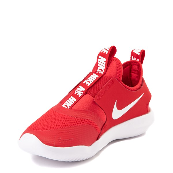 alternate view Nike Flex Runner Slip On Athletic Shoe - Little Kid - RedALT2
