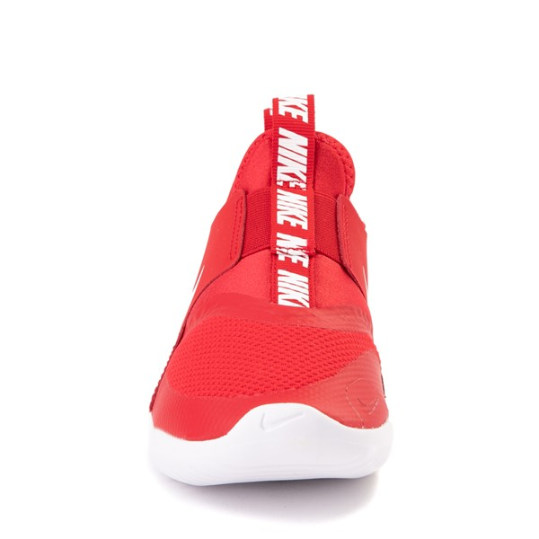 alternate view Nike Flex Runner Slip On Athletic Shoe - Little Kid - RedALT4