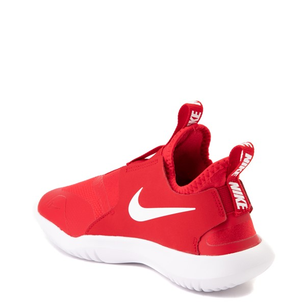 alternate view Nike Flex Runner Slip On Athletic Shoe - Big Kid - RedALT1