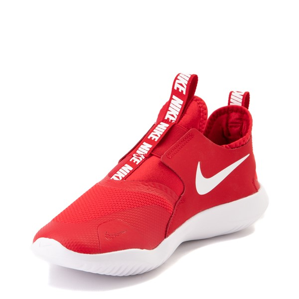 alternate view Nike Flex Runner Slip On Athletic Shoe - Big Kid - RedALT2