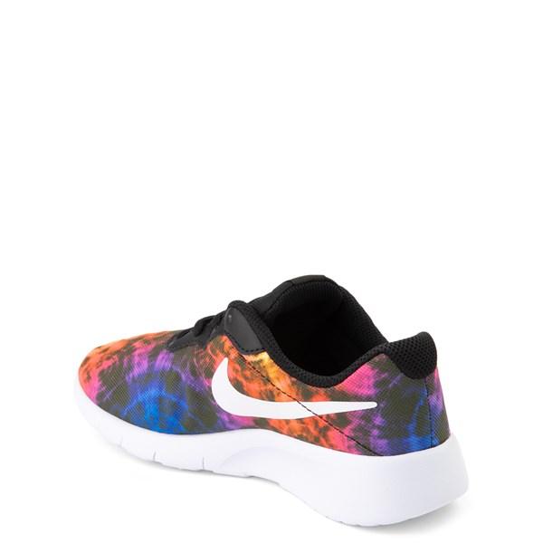 alternate view Nike Tanjun Tie Dye Athletic Shoe - Little KidALT2
