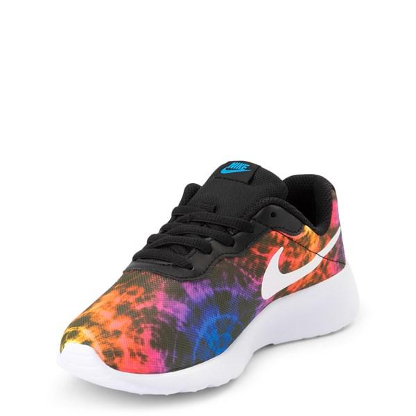 alternate view Nike Tanjun Tie Dye Athletic Shoe - Little KidALT3