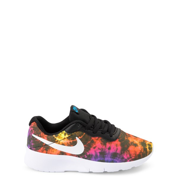 Nike Tanjun Tie Dye Athletic Shoe - Big Kid