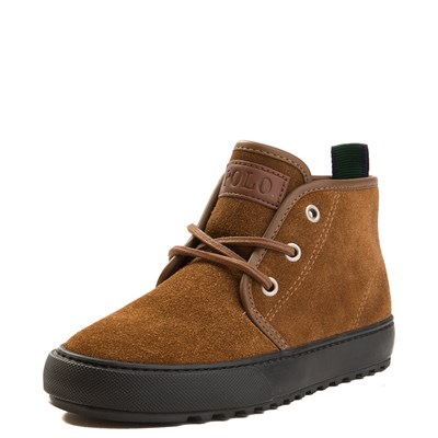 Alternate view of Chett Suede Casual Shoe by Polo Ralph Lauren - Little Kid