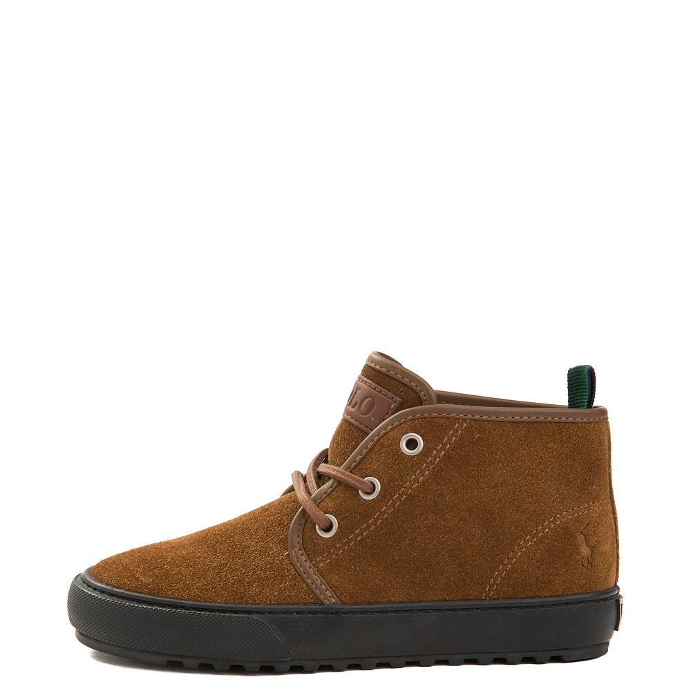 Chett Suede Casual Shoe by Polo Ralph Lauren - Little Kid