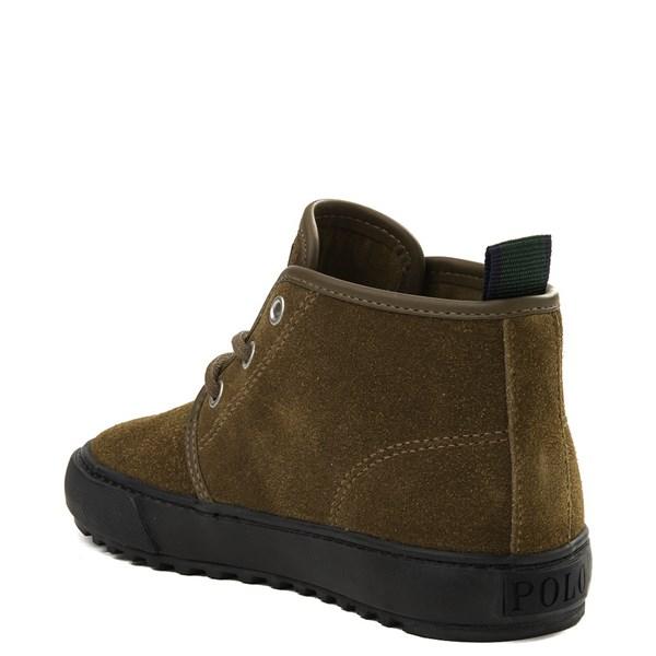 alternate view Chett Suede Casual Shoe by Polo Ralph Lauren - Big KidALT2