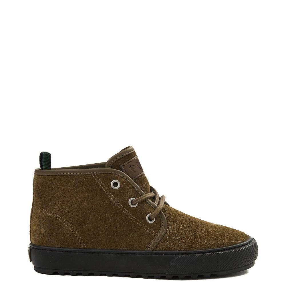 Chett Suede Casual Shoe by Polo Ralph Lauren - Big Kid