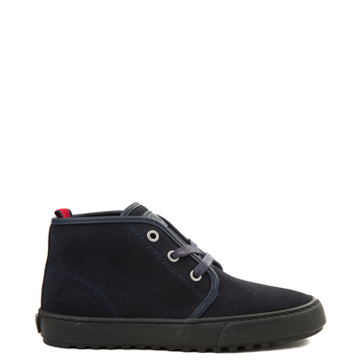 Main view of Youth Chett Suede Casual Shoe by Polo Ralph Lauren