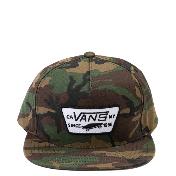Vans Full Patch Snapback Cap - Camo
