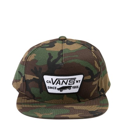 Main view of Vans Full Patch Snapback Cap - Camo