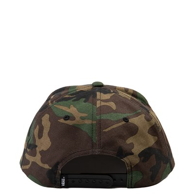 Alternate view of Vans Full Patch Snapback Hat - Camo