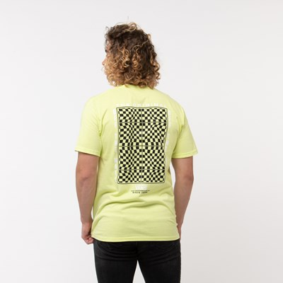 Alternate view of Mens Vans Warped Check Tee