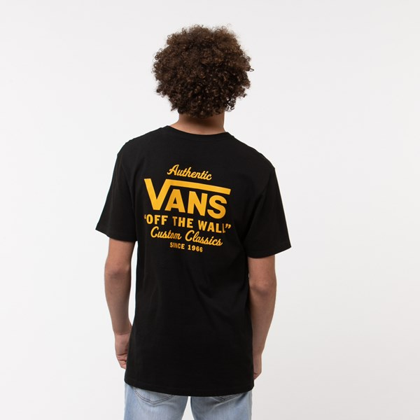 Default view of Mens Vans Holder Street Tee - Black / Gold