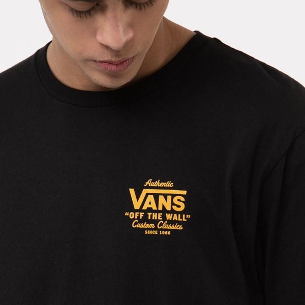 alternate view Mens Vans Holder Street Tee - Black / GoldALT5