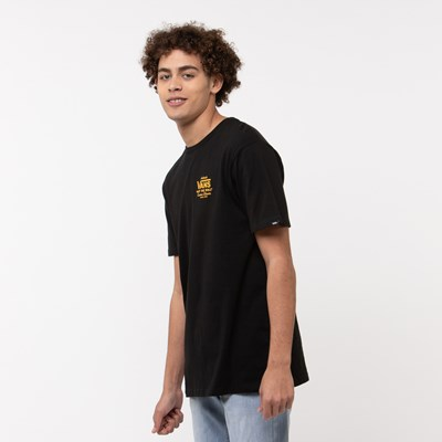 Alternate view of Mens Vans Holder Street Tee - Black / Gold