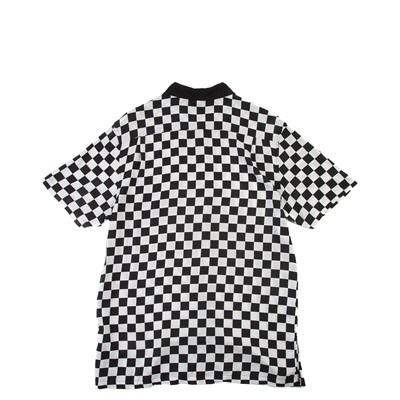 Alternate view of Mens Vans Checker Camp Shirt