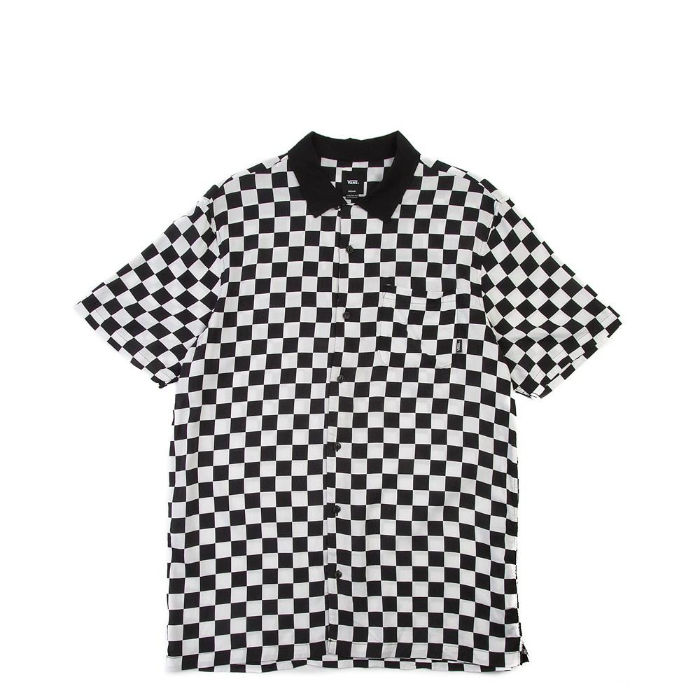 Mens Vans Checker Camp Shirt