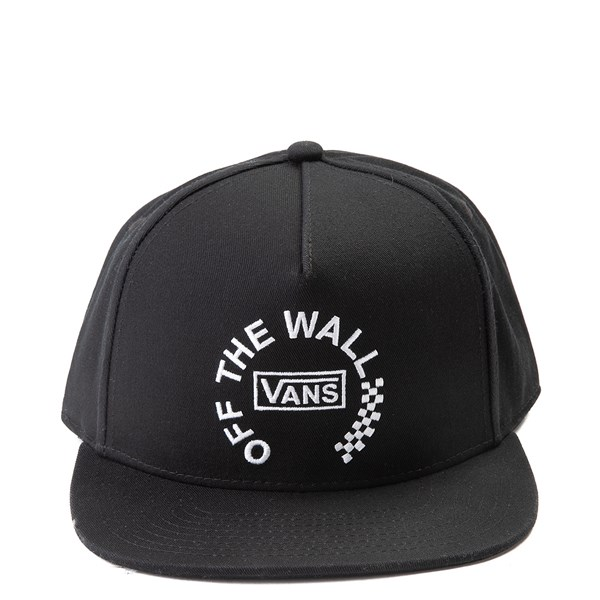 Main view of Vans Off The Wall Distort Strapback Hat - Black