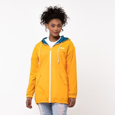 Alternate view of Womens Vans Mercy Reversible Parka - Multi