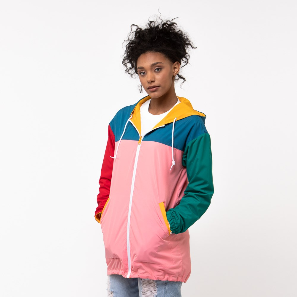 Womens Vans Mercy Reversible Parka - Multi