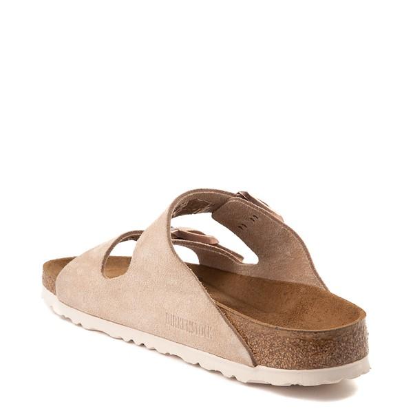 alternate view Womens Birkenstock Arizona Soft Footbed Sandal - NudeALT1