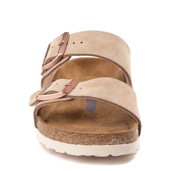 alternate view Womens Birkenstock Arizona Soft Footbed Sandal - NudeALT4