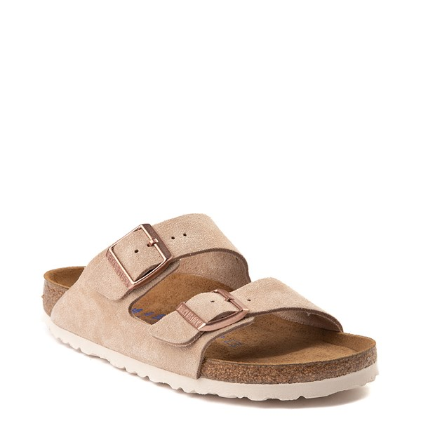 alternate view Womens Birkenstock Arizona Soft Footbed Sandal - NudeALT1