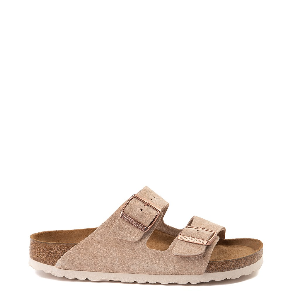 Womens Birkenstock Arizona Soft Footbed Sandal - Nude