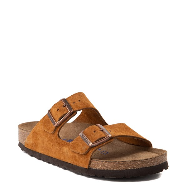 Alternate view of Womens Birkenstock Arizona Soft Footbed Sandal - Chestnut