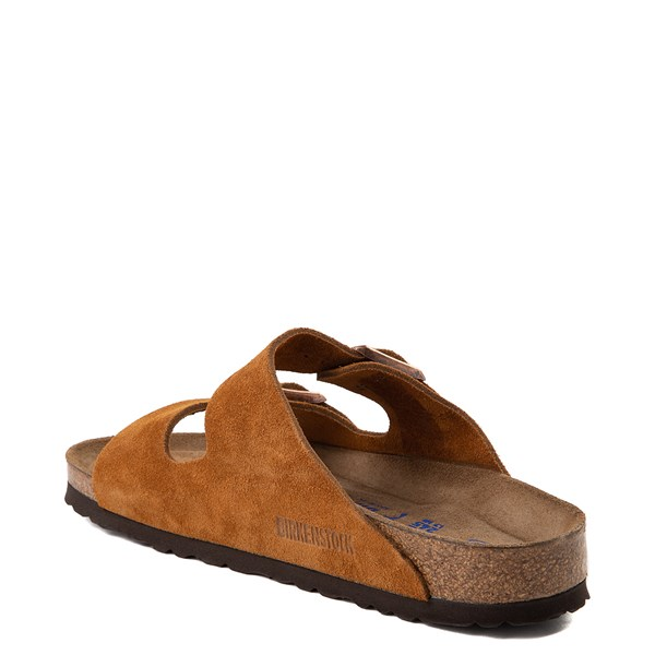 alternate view Womens Birkenstock Arizona Soft Footbed Sandal - ChestnutALT2