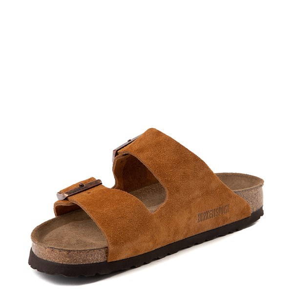 alternate view Womens Birkenstock Arizona Soft Footbed Sandal - ChestnutALT3
