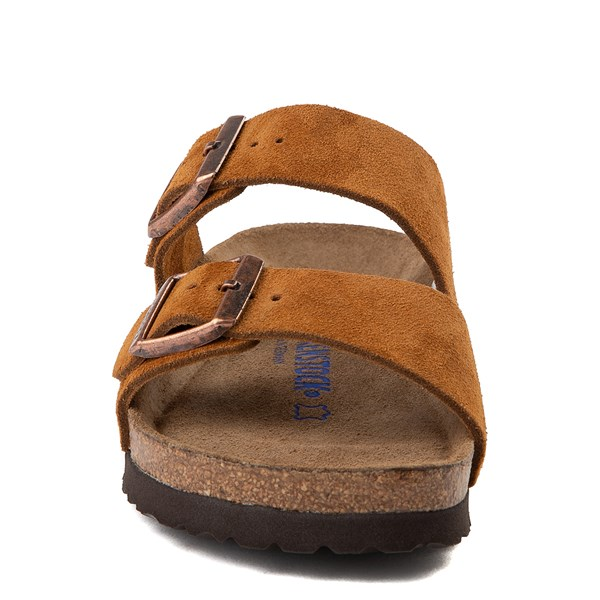 alternate view Womens Birkenstock Arizona Soft Footbed Sandal - ChestnutALT4