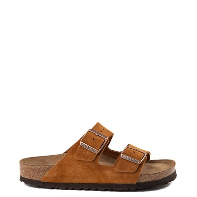 Main view of Womens Birkenstock Arizona Soft Footbed Sandal - Chestnut