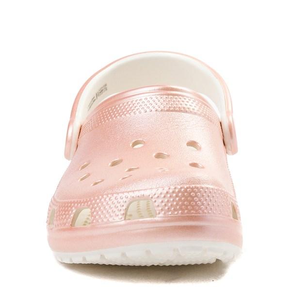 alternate view Crocs Classic Clog - Rose GoldALT4