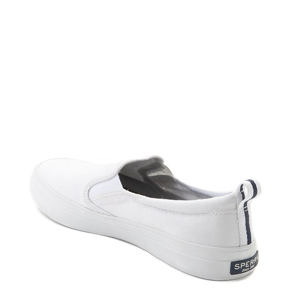 alternate view Womens Sperry Top-Sider Crest Slip On Casual Shoe - WhiteALT2