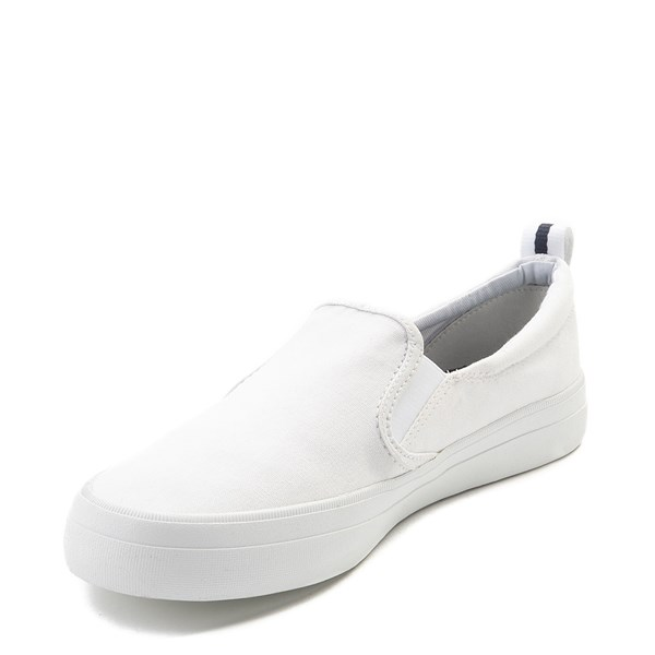 alternate view Womens Sperry Top-Sider Crest Slip On Casual Shoe - WhiteALT3