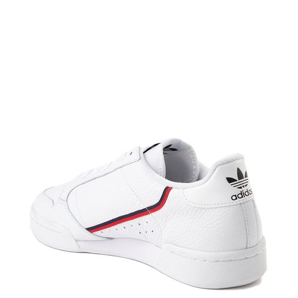 alternate view Mens adidas Continental 80 Athletic Shoe - White / Navy / RedALT1
