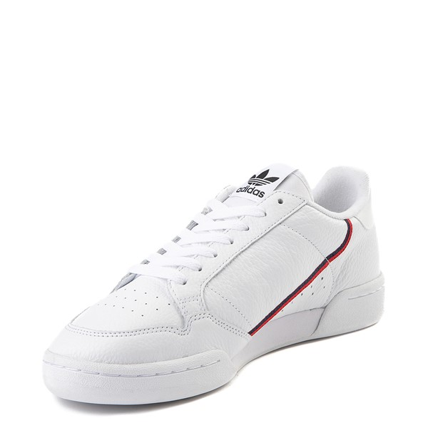 alternate view Mens adidas Continental 80 Athletic Shoe - White / Navy / RedALT2