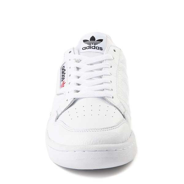 alternate view Mens adidas Continental 80 Athletic Shoe - White / Navy / RedALT4