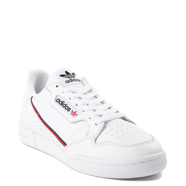 alternate view Mens adidas Continental 80 Athletic Shoe - White / Navy / RedALT5