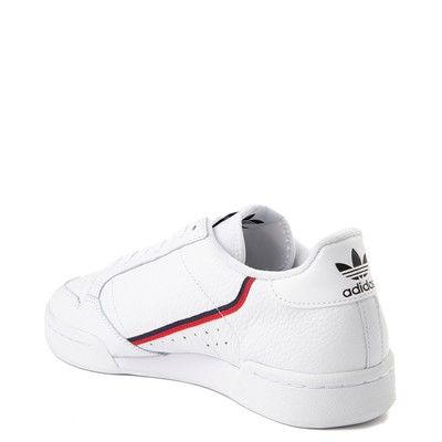 Alternate view of Mens adidas Continental 80 Athletic Shoe - White / Navy / Red
