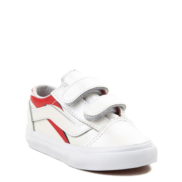 Alternate view of Vans x David Bowie Aladdin Sane Old Skool V Skate Shoe - Baby / Toddler