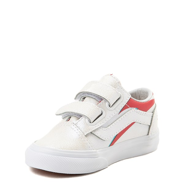 alternate view Vans x David Bowie Aladdin Sane Old Skool V Skate Shoe - Baby / Toddler - BabyALT3
