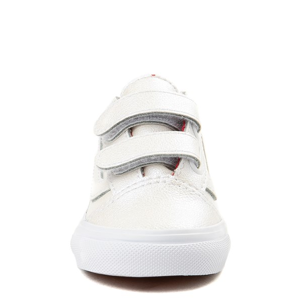 alternate view Vans x David Bowie Aladdin Sane Old Skool V Skate Shoe - Baby / Toddler - BabyALT4