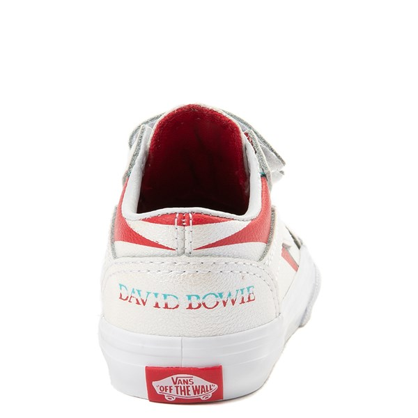 alternate view Vans x David Bowie Aladdin Sane Old Skool V Skate Shoe - Baby / Toddler - BabyALT6