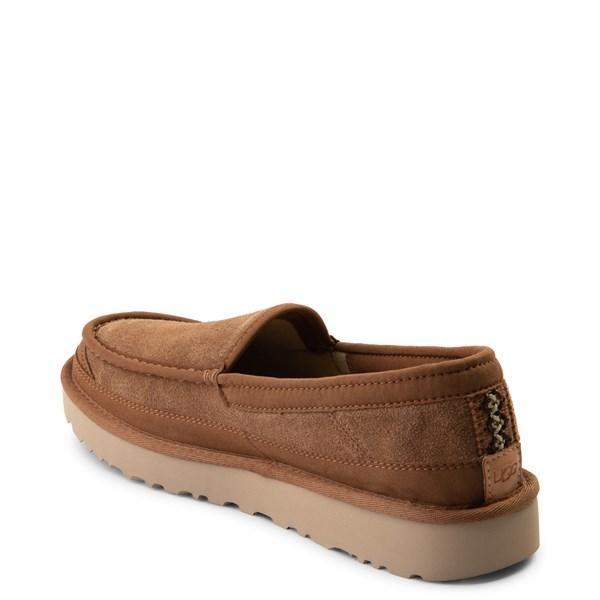 alternate view Mens UGG® Dex Slip On Casual Shoe - ChestnutALT2