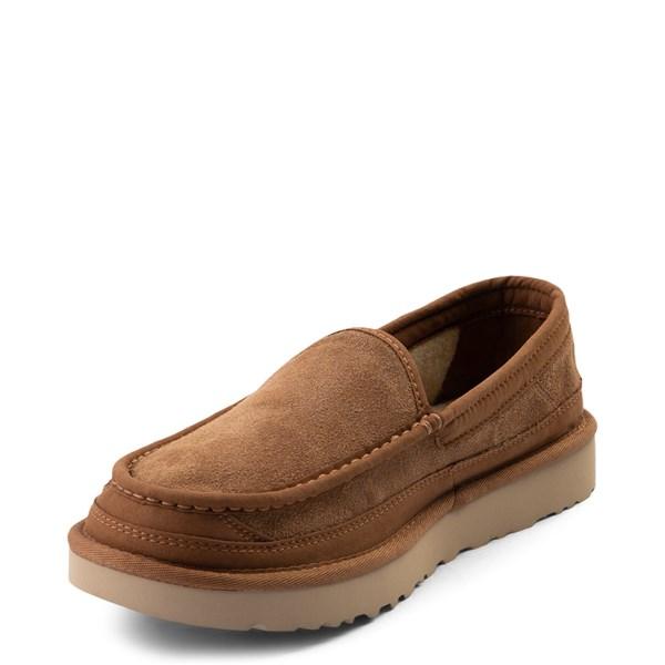 alternate view Mens UGG® Dex Slip On Casual Shoe - ChestnutALT3