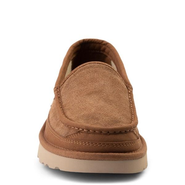 alternate view Mens UGG® Dex Slip On Casual Shoe - ChestnutALT4