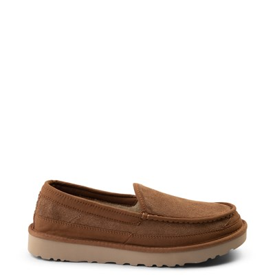 Main view of Mens UGG® Dex Slip On Casual Shoe - Chestnut